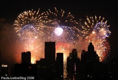 detroit fireworks 2006