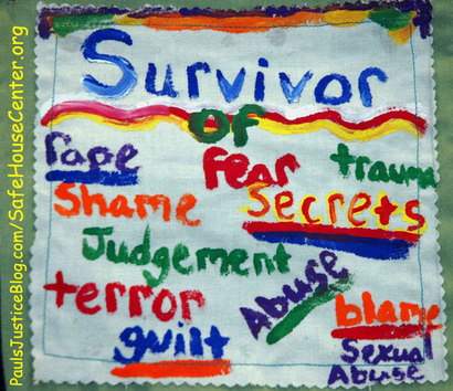 domestic violence survivor art work